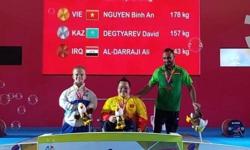 Казахстан выиграл первое «серебро» Азиатских Параигр-2018