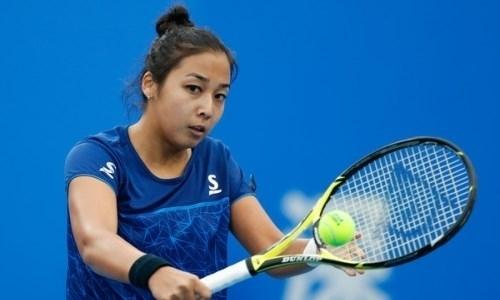 Дияс проиграла в первом круге турнира в Гонконге