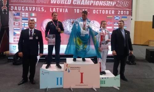 Казахстанка стала чемпионкой мира по гиревому спорту в Латвии