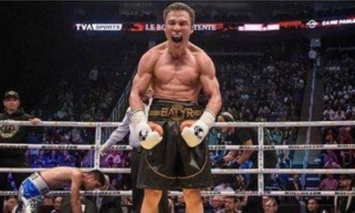 Казахстанский нокаутер Джукембаев изменил планы после выигранного боя с нокдауном