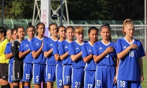 Женская сборная до 17 лет завершила выступление в отборочном раунде чемпионата Европы-2019