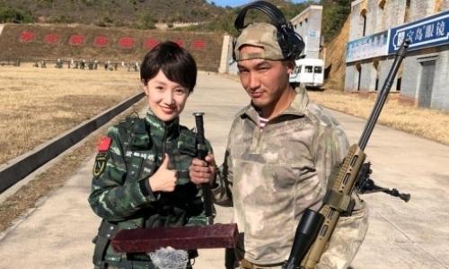 Бойцы Нацгвардии РК соревнуются в меткости в Китае