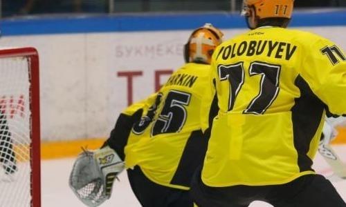 «Сарыарка» проиграла «Рубину» в матче ВХЛ