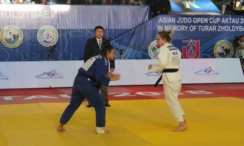 В Актау прошел открытый Кубок Азии по дзюдо