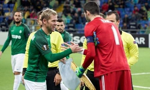 """Томаш Гюбшман: «В конце мы уже потеряли игру, и """"Астана"""" нас закрыла в штрафной»"""
