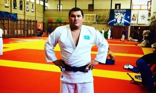 Кажыбаев стал бронзовым призером Гран-при по дзюдо