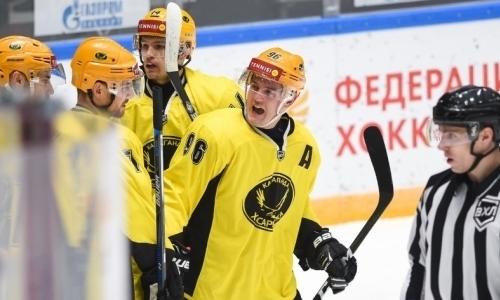 «Сарыарка» одолела «Челмет» в матче ВХЛ