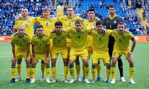 Сборные Казахстана и Латвии назвали стартовые составы на матч Лиги наций