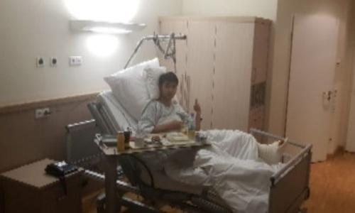 Сейдахмет сообщил о перенесенной операции после тяжелой травмы