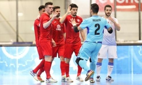 «Кайрат» одержал три победы в Элитном раунде ЛЧ и вышел в «Финал четырех»