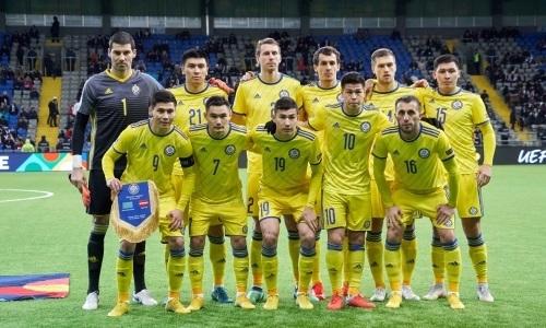 Объявлен стартовый состав сборной Казахстана на матч против Грузии