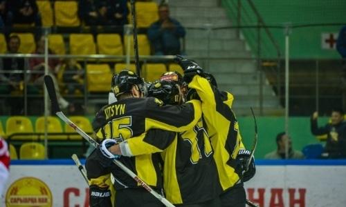 «Сарыарка» в серии буллитов одолела «Ценг Тоу» в матче ВХЛ