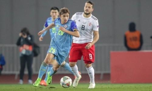 Видеообзор матча Лиги наций, или Как Казахстан на выезде проиграл Грузии
