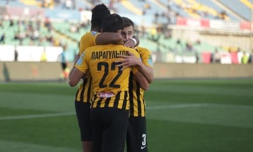 «Кайрат» в девятый раз выиграл Кубок Казахстана