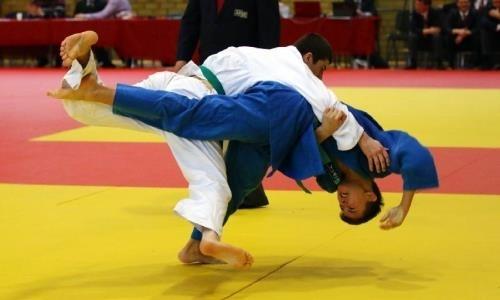 Открытый турнир по дзюдо пройдет в Астане