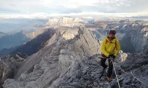 Армейский альпинист покорил очередную вершину