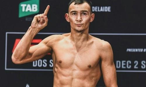 Первый казах в UFC Исмагулов в дебютном бое победил небитого «Хитмэна»