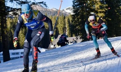 Казахстанские биатлонисты приняли участие в спринте Кубка Мира в Поклюке