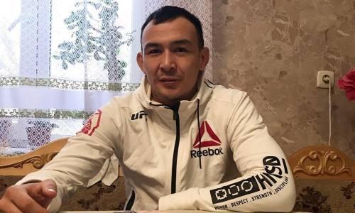 «За бутылку водки». USADA проверила на допинг казахского бойца UFC