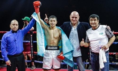 21-летний казахстанец победил небитого американца и завоевал титул чемпиона WBC