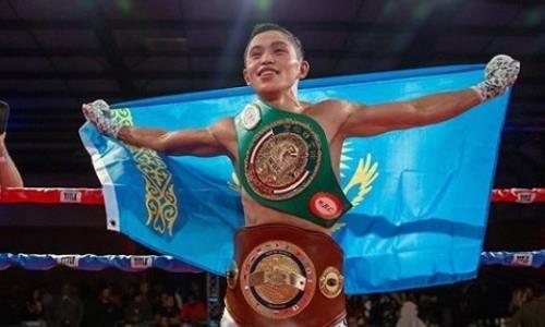 «Мы это сделали». Молодой чемпион обратился к казахстанцам после завоевания титула WBC