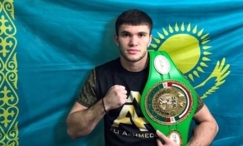 Казахстанский чемпион-полутяж поднялся в рейтинге WBC