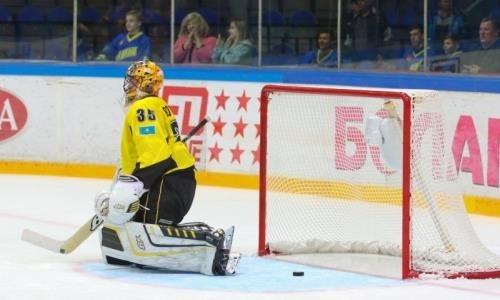 «Сарыарка» минимально уступила «Торосу» в матче ВХЛ