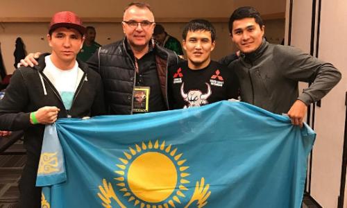 Казахстанский боксер из Top Rank провел первый бой на родине после выступлений в США