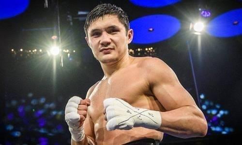 Казахстанский боксер после ухода от канадского промоутера победил нокаутом