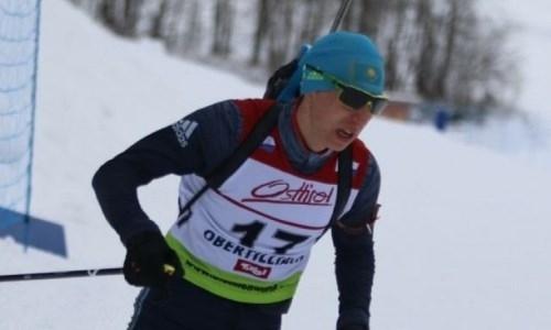 Казахстанский биатлонист вошел в двадцатку лучших по результатам спринта этапа Кубка IBU