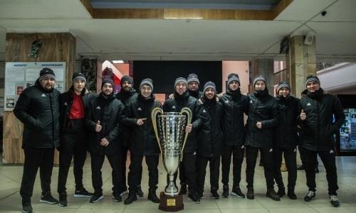 Кубок Казахстана прибыл в Актобе
