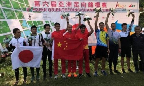 Казахстанцы заняли третье место на чемпионате Азии по спортивному ориентированию