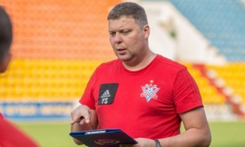 «Актобе» представил нового главного тренера