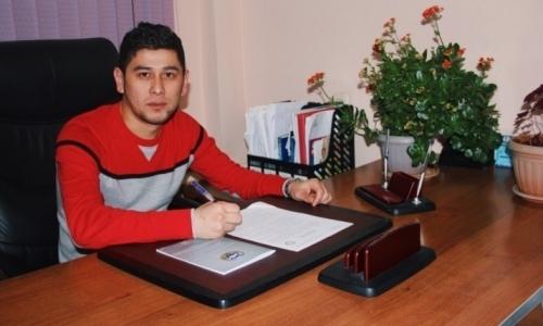 Кайрат Аширбеков завершил карьеру и получил должность в «Ордабасы»