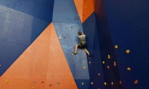 Новый скалодром в Караганде не решил вопросы подготовки спортсменов к международным соревнованиям