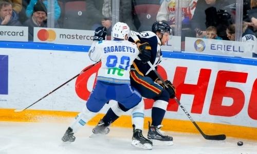 Отчет о матче КХЛ «Металлург» — «Барыс» 1:3