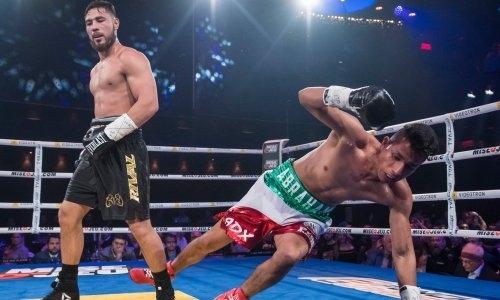 Видео чудовищного нокаута, или Как 20-летний казахстанец стал чемпионом мира WBC