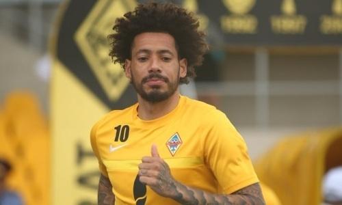 Исаэль после ухода из «Кайрата» приехал в новый клуб