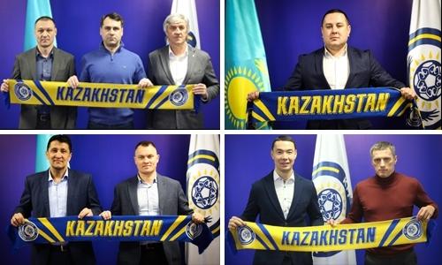 Сборные Казахстана. Вопросы наставничества