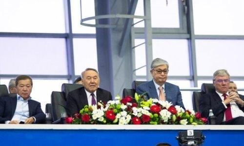Нурсултан Назарбаев поддержал первую ракетку Казахстана в матче Кубка Дэвиса