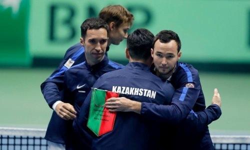 Казахстан победил Португалию и вышел в финальную стадию Кубка Дэвиса