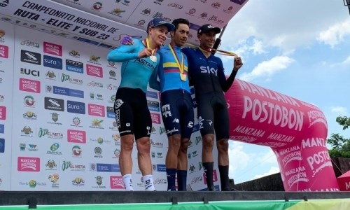 Гонщик «Астаны» завоевал «серебро» на чемпионате Колумбии