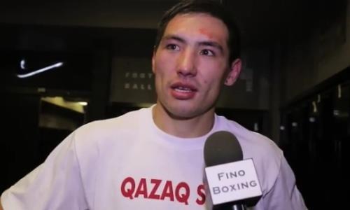 Алимханулы оценил свое состояние после пятой победы и озвучил грандиозную цель