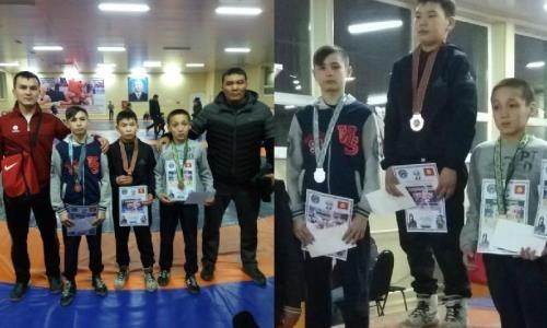 Акмолинский борец выиграл «серебро» международного турнира в Кыргызстане