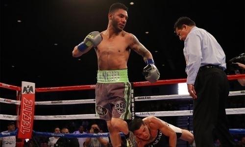 Видео нокдаунов и нокаута, или Как обидчик казахстанского боксера сотворил сенсацию в титульном бою