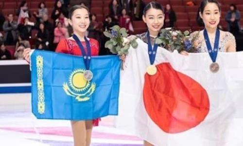 Турсынбаева поблагодарила известного тренера за успех на «Турнире четырех континентов»