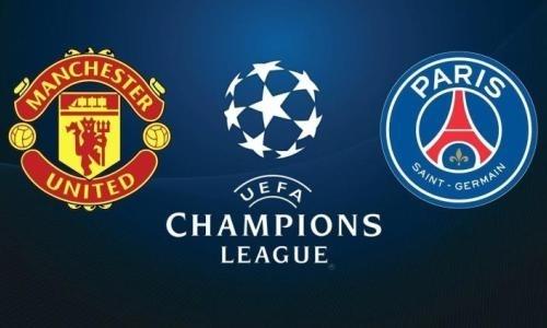 Казахстанцы увидят прямую трансляцию матча ЛЧ «Манчестер Юнайтед» — ПСЖ