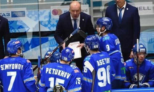 «Барыс» лишили лидерства в дивизионе и второго места в конференции КХЛ
