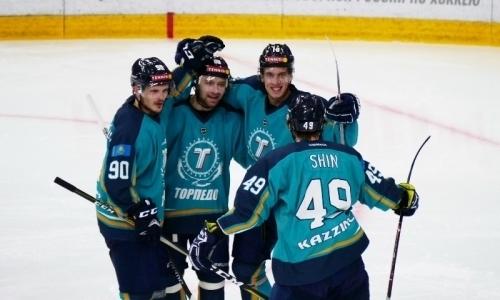 «Торпедо» уверено обыграло «Горняк» в матче ВХЛ