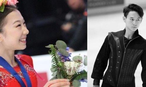 Элизабет Турсынбаева посвятила номер на показательных выступлениях Денису Тену